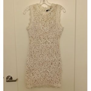 Forever 21 White Lace Bodycon Dress